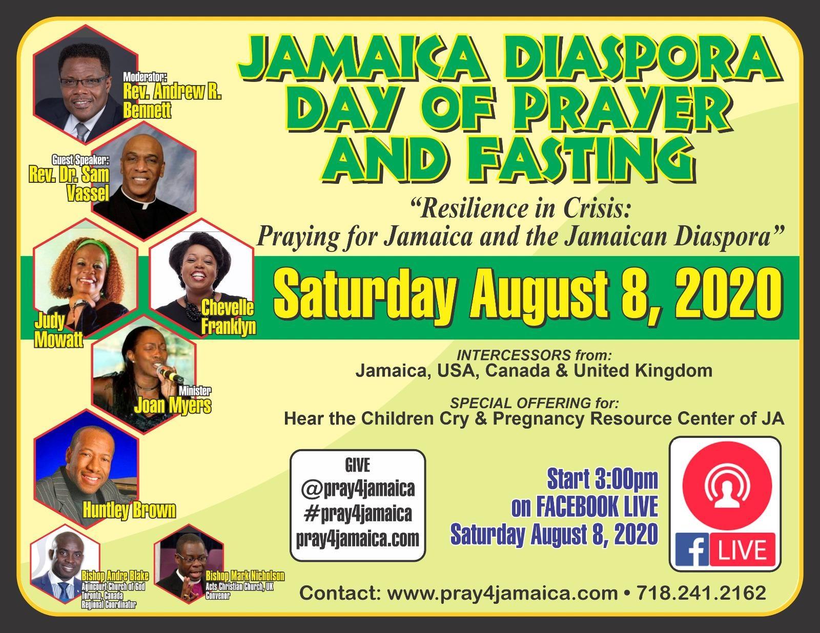 Jamaica Diaspora Day Of Prayer And Fasting